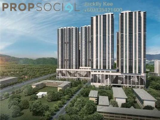 Condominium For Sale in Razak City Residences, Sungai Besi Freehold Fully Furnished 2R/2B 389k