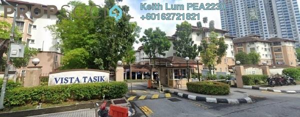 Apartment For Rent in Vista Tasik, Bandar Sri Permaisuri Freehold Fully Furnished 3R/2B 1.7k