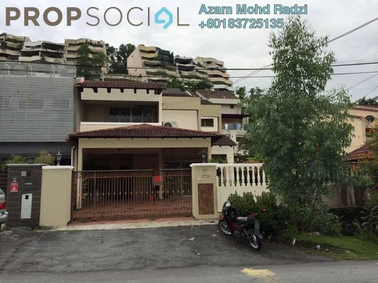 Semi-Detached For Sale in Taman Kelab Ukay, Bukit Antarabangsa Freehold Semi Furnished 5R/2B 1.25m