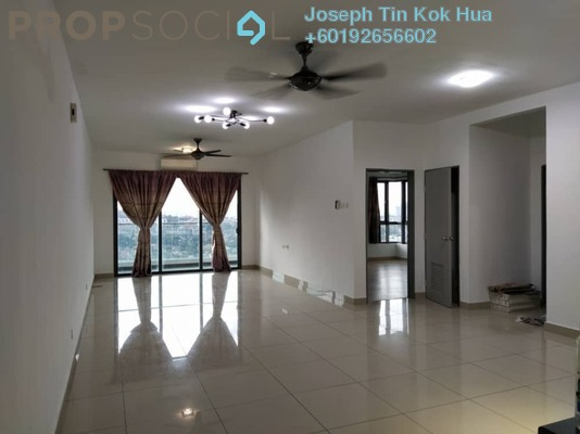 Condominium For Rent in KL Palace Court, Kuchai Lama Freehold Semi Furnished 3R/2B 1.7k
