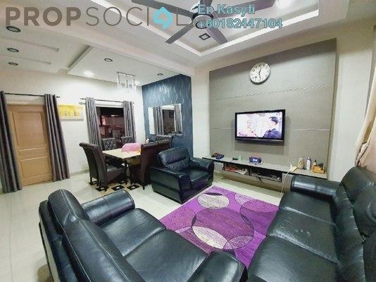 Terrace For Sale in Seri Pristana, Sungai Buloh Freehold Semi Furnished 4R/3B 500k