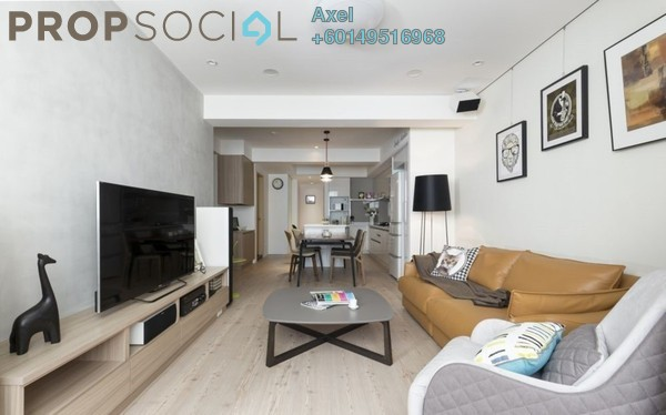 Condominium For Sale in Taman Kepong, Kepong Freehold Semi Furnished 3R/2B 658k