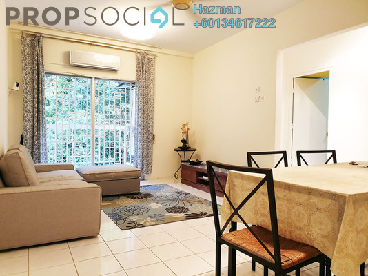 Condominium For Rent in Crystal Tower, Ampang Freehold Semi Furnished 3R/2B 1.4k