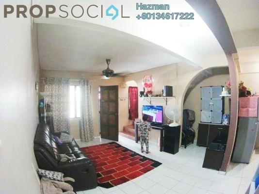 Terrace For Sale in Taman Kantan Permai, Kajang Leasehold Semi Furnished 3R/2B 315k
