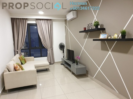 Condominium For Rent in Eclipse Residence @ Pan'gaea, Cyberjaya Freehold Fully Furnished 1R/1B 800translationmissing:en.pricing.unit