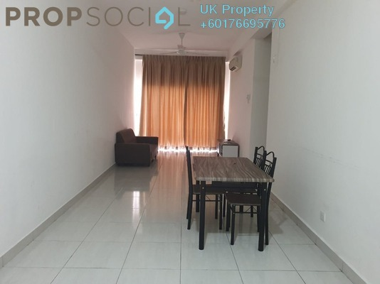 Serviced Residence For Rent in BSP 21, Bandar Saujana Putra Freehold Semi Furnished 3R/2B 1.5k