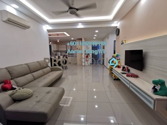 Apartment For Sale in V-Residensi, Selayang Heights Freehold Semi Furnished 3R/3B 470k