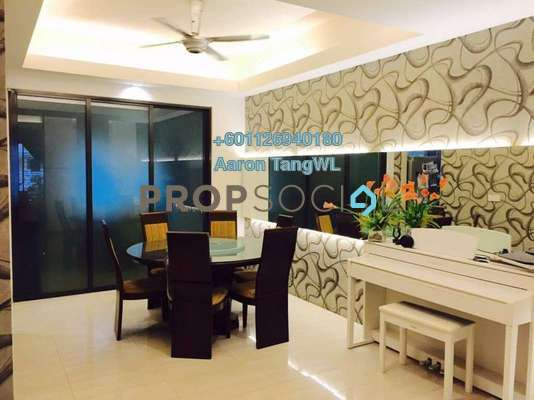 Terrace For Sale in SouthLake, Desa ParkCity Freehold Semi Furnished 4R/5B 2.4m