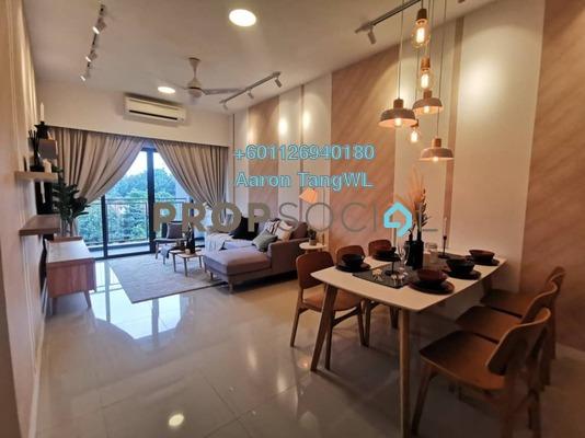Condominium For Sale in Sierramas Heights, Sungai Buloh Freehold Semi Furnished 3R/2B 800k