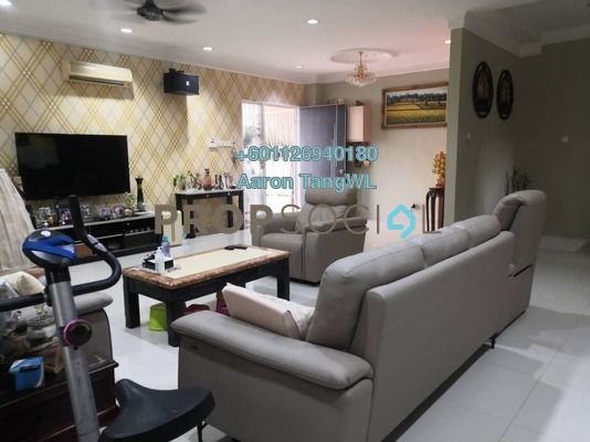 Semi-Detached For Sale in Laman Residen, Jalan Ipoh Freehold Semi Furnished 4R/5B 1.5m