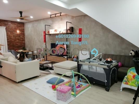 Townhouse For Sale in Laman Impian, Sunway Damansara Freehold Semi Furnished 3R/4B 1.4m