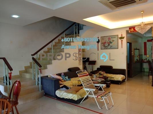 Terrace For Sale in Laman Rimbunan, Kepong Freehold Semi Furnished 6R/5B 1.35m