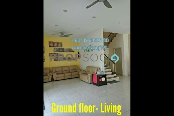 Semi-Detached For Sale in Areca Residence, Kepong Leasehold Semi Furnished 5R/6B 2.7m