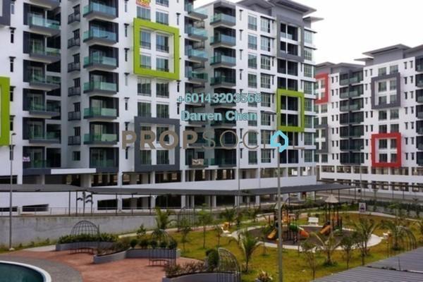 Condominium For Sale in Mahkota Garden Condominium, Bandar Mahkota Cheras Freehold Unfurnished 4R/3B 430k