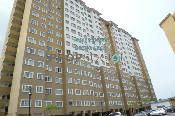 Condominium For Rent in Putra Suria Residence, Bandar Sri Permaisuri Freehold Semi Furnished 3R/2B 1.25k
