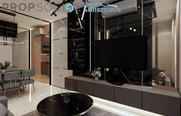 Condominium For Sale in Jalan Bangsar, Kuala Lumpur Freehold Semi Furnished 3R/2B 649k