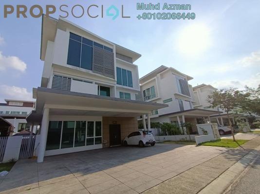 Terrace For Sale in Garden Residence, Cyberjaya Freehold Semi Furnished 5R/5B 2.7m