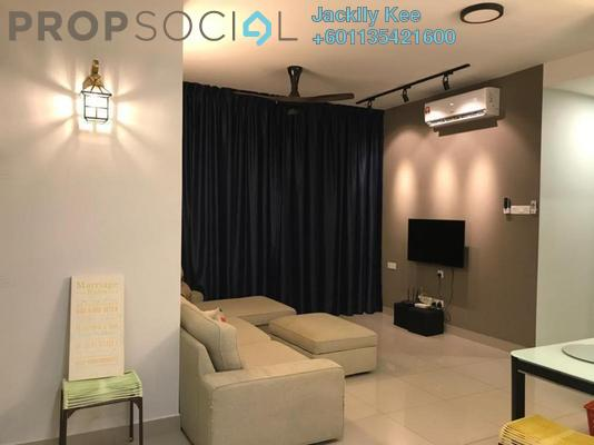 Serviced Residence For Rent in Parkhill Residence, Bukit Jalil Freehold Semi Furnished 4R/3B 2k