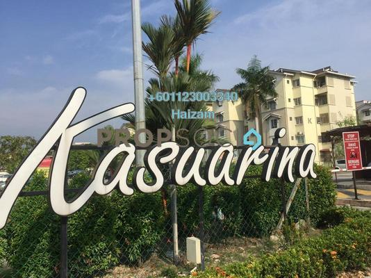 Apartment For Sale in Kasuarina Apartment, Klang Freehold Unfurnished 3R/2B 220k
