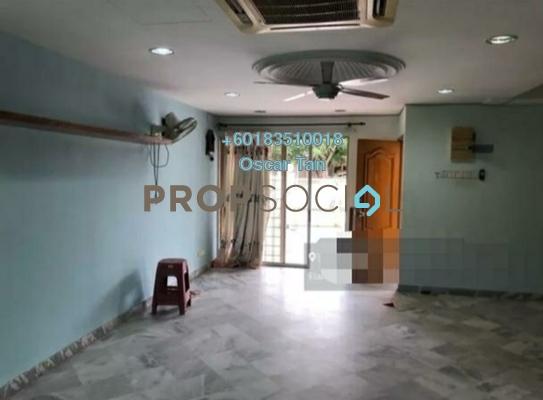 Terrace For Rent in Taman Mastiara, Jalan Ipoh Freehold Semi Furnished 4R/3B 1.8k