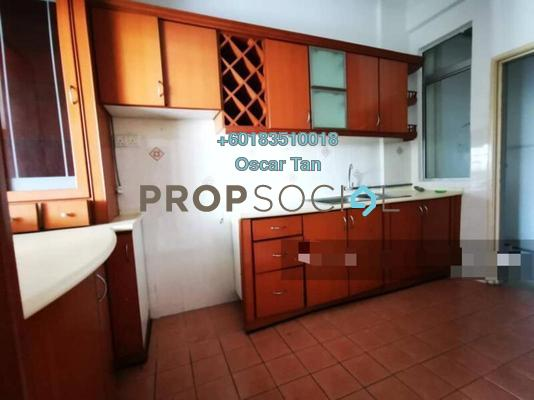 Townhouse For Rent in Taman Sri Sinar, Segambut Freehold Semi Furnished 4R/3B 1.5k