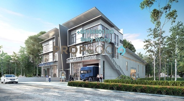 Factory For Sale in Nouvelle Industrial Park, Kota Puteri Freehold Unfurnished 1R/2B 2.75m