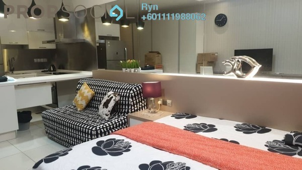 Condominium For Sale in M Suites, Ampang Hilir Freehold Fully Furnished 1R/1B 565k