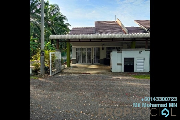 Terrace For Sale in Jenjarom, Selangor Freehold Semi Furnished 3R/2B 360k