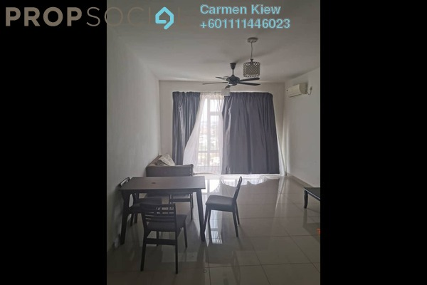 Serviced Residence For Rent in Pandan Residence 1, Johor Bahru Freehold Fully Furnished 2R/2B 1k