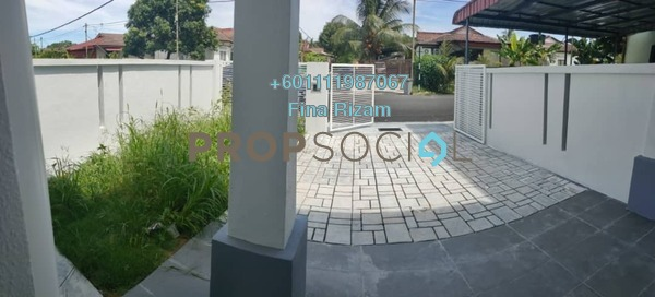 Terrace For Sale in Lukut, Port Dickson Freehold Unfurnished 3R/1B 190k