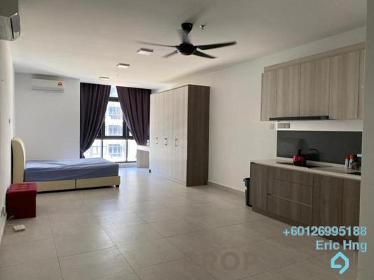 Condominium For Rent in Q Suite @ Queensville, Bandar Sri Permaisuri Freehold Semi Furnished 1R/1B 1.3k