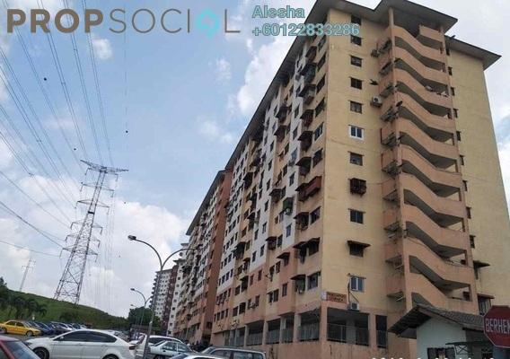 Apartment For Sale in Taman Belimbing, Seri Kembangan Freehold Unfurnished 3R/1B 160k