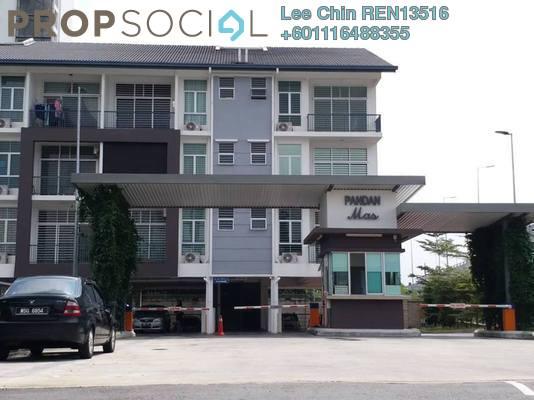 Townhouse For Sale in Pandan Indah, Pandan Indah Freehold Semi Furnished 3R/2B 510k