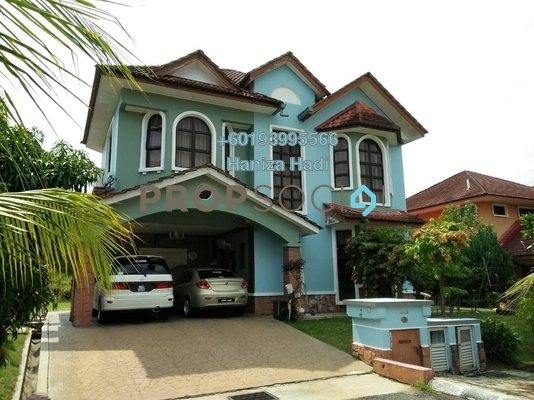 Bungalow For Sale in Bayu Lakehomes, Mantin Freehold Semi Furnished 4R/5B 900k