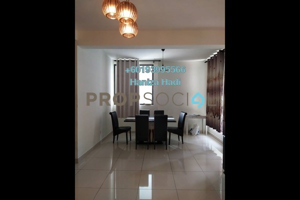 Condominium For Sale in The Z Residence, Bukit Jalil Freehold Semi Furnished 3R/2B 690k