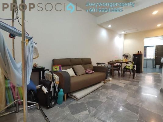 Terrace For Sale in Jalan Tiong, Bandar Puchong Jaya Freehold Semi Furnished 3R/2B 490k