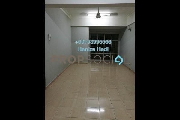 Condominium For Sale in Teratai Mewah Condominium, Setapak Freehold Semi Furnished 3R/2B 425k