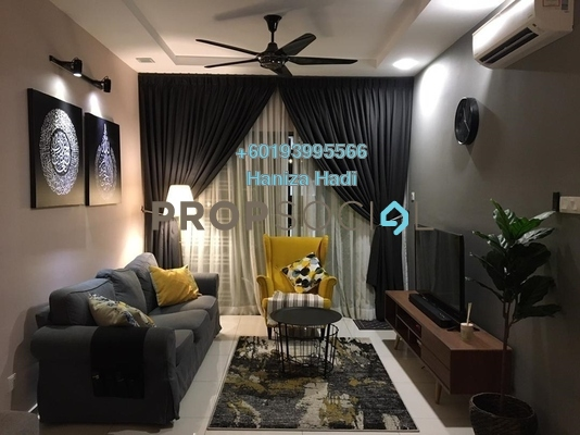Apartment For Sale in Seasons Garden Residences, Wangsa Maju Freehold Fully Furnished 3R/2B 515k