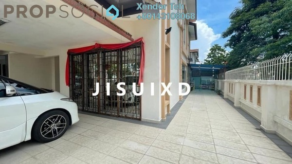 Terrace For Sale in Kemuning Bayu , Kemuning Utama Freehold Semi Furnished 4R/4B 1.35m