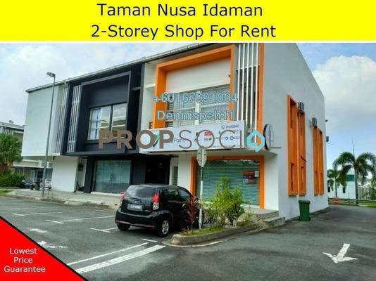 Shop For Rent in Nusa Idaman, Iskandar Puteri (Nusajaya) Freehold Unfurnished 0R/0B 1.8k