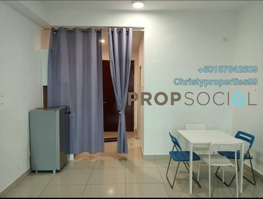 Apartment For Rent in Parc Regency, Johor Bahru Freehold Fully Furnished 0R/1B 800translationmissing:en.pricing.unit