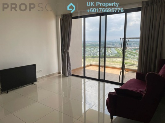 Condominium For Rent in The Parque Residences @ Eco Sanctuary, Telok Panglima Garang Freehold Fully Furnished 2R/2B 2.2k