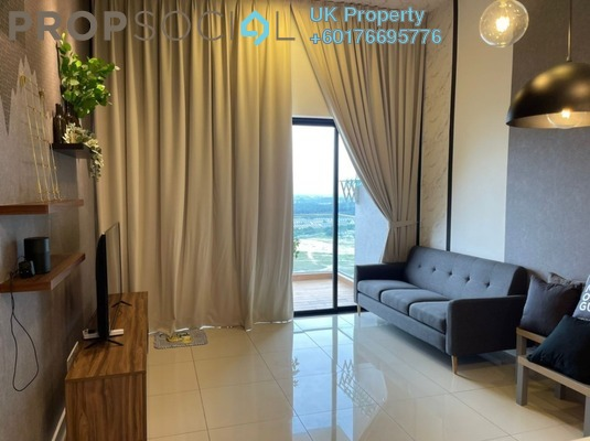 Condominium For Rent in The Parque Residences @ Eco Sanctuary, Telok Panglima Garang Freehold Fully Furnished 2R/1B 1.9k