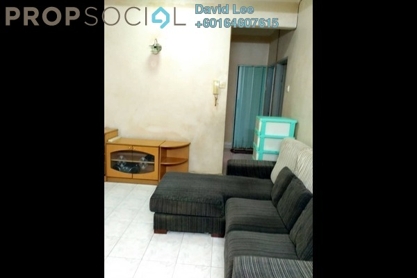 Apartment For Sale in Desa Mas Melur, Relau Freehold Semi Furnished 3R/2B 290k