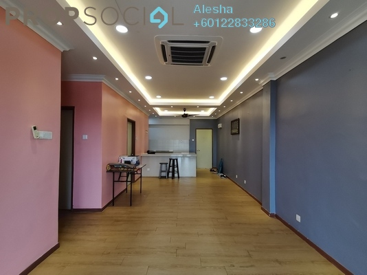 Serviced Residence For Sale in Suri Puteri, Shah Alam Freehold Unfurnished 3R/2B 400k