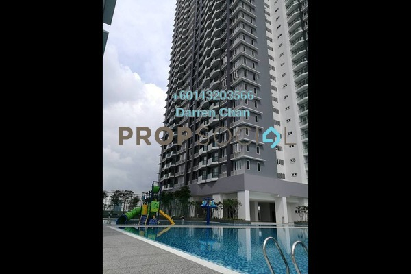 Condominium For Sale in Aurora Residence @ Lake Side City, Puchong Freehold Semi Furnished 3R/2B 530k