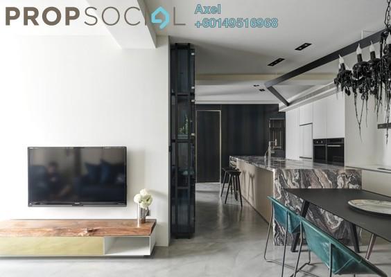 Condominium For Sale in Taman Wahyu, Jalan Ipoh Freehold Semi Furnished 3R/2B 748k