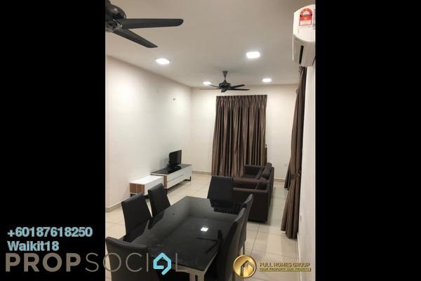 Condominium For Rent in M Condominium, Johor Bahru Freehold Fully Furnished 3R/2B 1.2k