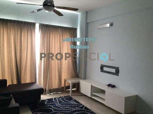 Condominium For Sale in Hijauan Puteri, Bandar Puteri Puchong Freehold Semi Furnished 3R/2B 420k
