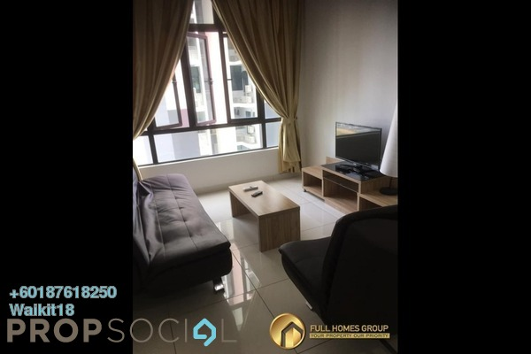 Condominium For Rent in D'Summit Residences, Skudai Freehold Fully Furnished 2R/2B 1k